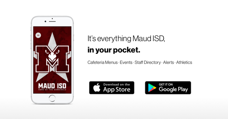 It's everything Maud ISD, in your pocket